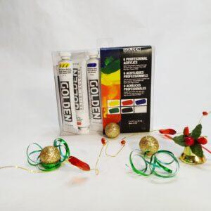 Kit acrylique Golden