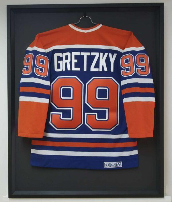 Encadrement Chandail Hockey Wayne Gretzky