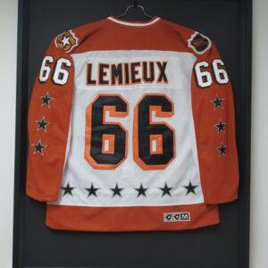 Encadrement chandail sportif Mario Lemieux